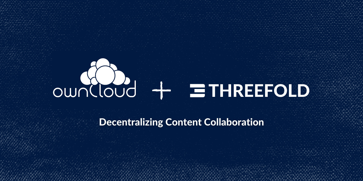 ownCloud partners with ThreeFold